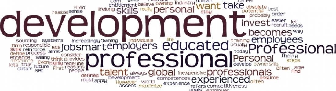 personal vs professional development